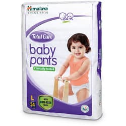 Himalaya Total Care Baby Diaper Pants 54 s (Large)