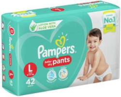 Pampers New Large Size Diapers Pants (42 Count) - L 42 Pieces