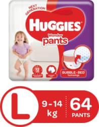 Huggies Wonder Pants diapers - L 64 Pieces