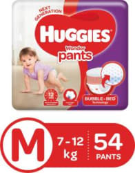 Huggies Wonder Pants diapers - M 54 Pieces