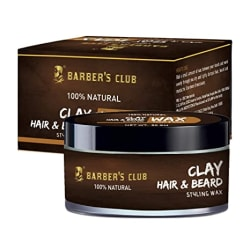 Barber s Club Beard and Moustache Wax with Tea Tree Oil - 50 g