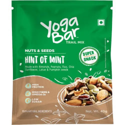 Yoga bar Nuts & Seeds Trail Mix - Hint of Mint, 40 g