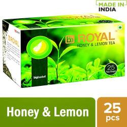bb Royal Green Tea - Lemon & Honey, 50 g (25 Bags x 2 g each)