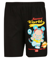 Dongli boys cotton printed shorts with bio wash (Pack of 1).