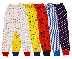 Triviso Baby Boy s & Girl s Cotton Animal Print Pajama (Pack of 5)