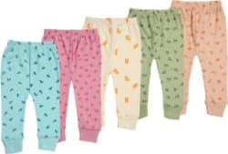 Kuchipoo Baby Boys & Baby Girls Pyjama Pack of 5