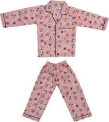 MAXISTORE Baby Boys & Baby Girls Printed Multicolor Shirt & Pyjama set