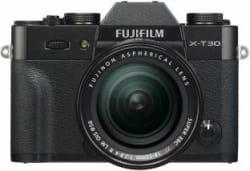 Fujifilm X-T30 Mirrorless Camera Body with 18-55 Kit Lens Black