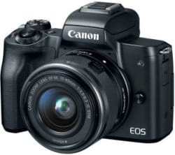 Canon M50 Mirrorless Camera Body with Single Lens EF-M 15-45 mm IS STM(Black)