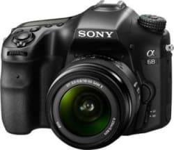 Sony ILCA-68K Mirrorless Camera with 18-55 mm Lens Black
