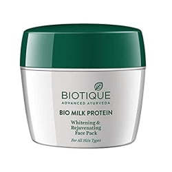 Biotique Bio Milk Protein Whitening and Rejuvenating Face Pack, 175g