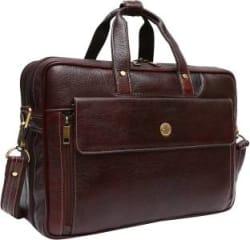 Hammonds Flycatcher 15.6 inch Expandable Laptop Messenger Bag Brown