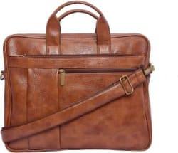 shunya 15 inch Laptop Messenger Bag Brown