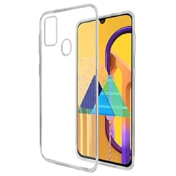 Casotec Soft TPU Back Case Cover for Samsung Galaxy M30s - Clear