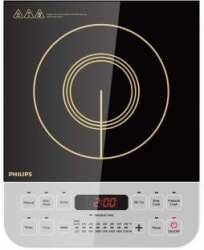 Philips HD4928/01 Induction Cooktop Black, Push Button