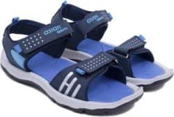 Asian Boys & Girls Velcro Sports Sandals Red