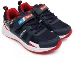 Asian Boys Lace Running Shoes Blue