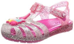 crocs Girl s Pink Ombre Outdoor Sandals-C10 (205535-6PD) (10 US)