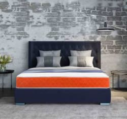 SleepX Dual Medium Soft & Hard 6 inch King Bonded Foam Mattress