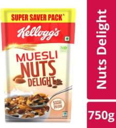 Kellogg s Muesli Nuts Delight(750 g, Pouch)