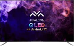iFFALCON by TCL 163.8cm (65 inch) Ultra HD (4K) QLED Smart Android TV with HandsFree Voice Search 65H71