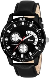AMINO AMN_452 LEATHER NEW ARRIVAL ROUND DIAL ANALOG QUARTZ WATCH FOR MEN Analog Watch - For Boys
