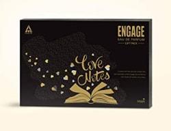 Engage Eau de Parfum Yin, 90ml with Pocketful O Stories Gift Pack (For Men)