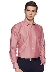 Amazon Brand - Symbol Men s Solid Classic Fit Formal Shirt