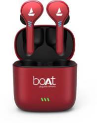 boAt Airdopes 431 Bluetooth Headset Red, True Wireless