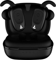 boAt Airdopes 201 Earbuds Bluetooth Headset Active Black, True Wireless