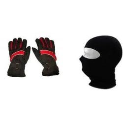 Pro Liner Winter Gloves Face Mask Combo