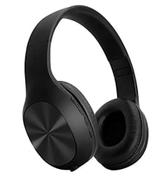 Sound One V11 Wireless Bluetooth Headphones/Mic with Deep Bass (Black)