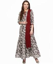 Jaipur Kurti Women Kurta and Skirt Set