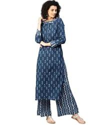 Jaipur Kurti Women s cotton straight Salwar Suit Set