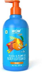WOW Skin Science Kids Plush & Plump Body Lotion - Peach - SPF 15 - No Parabens, Mineral Oil, Silicones & Color - 300mL 300 ml