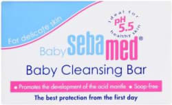 Sebamed kids Cleansing bar for delicate skin - Pack of 1(100g) 100 g