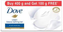 Dove Cream Beauty Bathing Bars 4 x 100 g