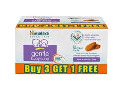 Himalaya Gentle Baby Soap (75g, Buy 3 Get 1 Free)