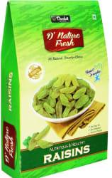 D NATURE FRESH Green Raisins 500gm (Box) Raisins 500 g