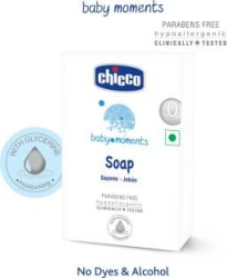 Chicco Soap 75 Gr Baby Moments 6 x 12.5 g