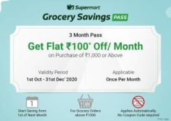 Grocery Savings Pass - 3 Months E-Mail Delivery Only