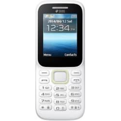 Pear P310 White 1.8 inches (4.57 cm) Display Dual Sim Feature Phone
