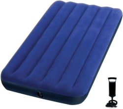 Intex PVC (Polyvinyl Chloride) 1 Seater Inflatable Sofa Color - Blue