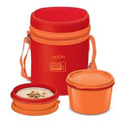 Milton Neo 3 Medium Tiffin Box, Set of 3, Red