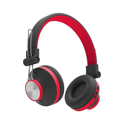Ant Audio Treble H82 On Ear Bluetooth Headphone with Mic (Black Red)