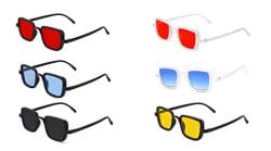 Fancy-Creation Kabir Singh Sunglasses For Men and Women (Pack Of 6)