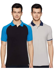 Amazon Brand - Symbol Men s Solid Regular fit Polo (Pack of 2)