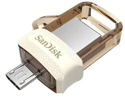 SanDisk SDDD3-032G-I35GW Ultra Dual 32GB USB 3.0 OTG Pen Drive (Gold)