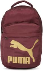 Puma Unisex Laptop Backpack 23 L Backpack Maroon