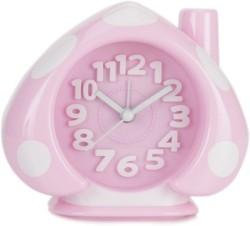 Design O Vista Analog Pink, White Clock